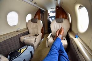 Aeroprofil flight jet