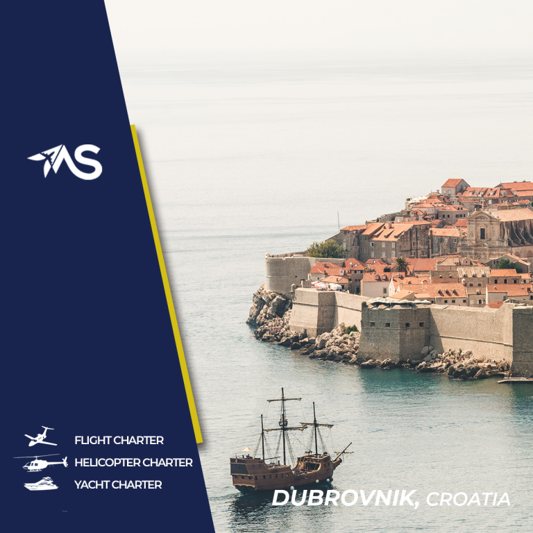 Private flight to/from Dubrovnik